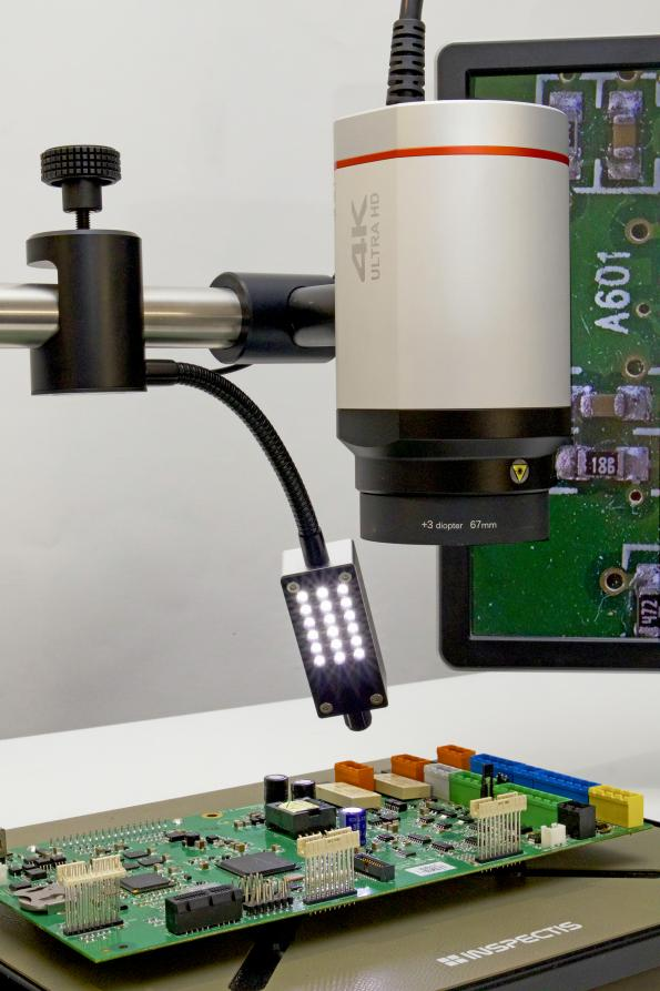 Digital microscope lighting accessories for best imaging