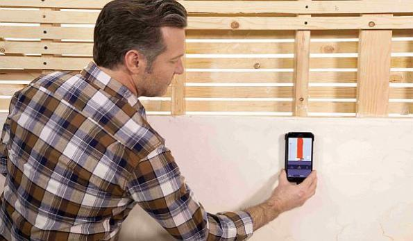 Smartphone imaging tool lets homeowners see inside their walls