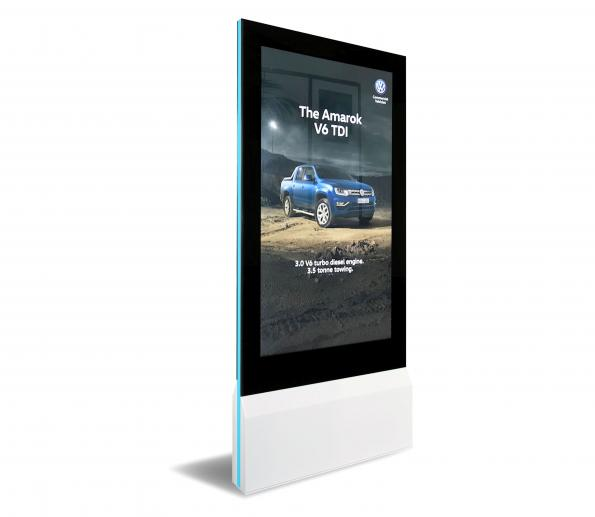 touch-interactive display
