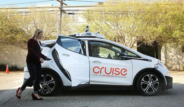 GM Cruise raises $1B as it eyes robotaxi service