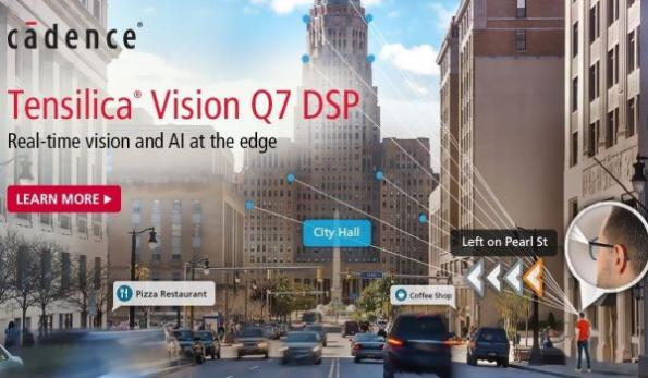 New DSP IP doubles embedded vision, AI performance