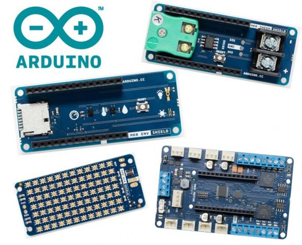 Premier Farnell expands Arduino range with MKR shields