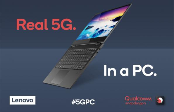 Qualcomm and Lenovo unveil first 5G PC