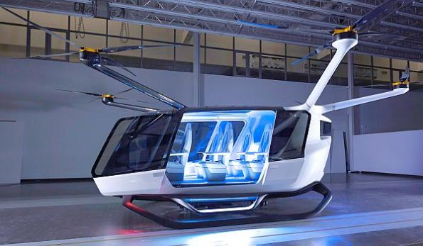 Hydrogen-powered air taxi looks to transform transportation