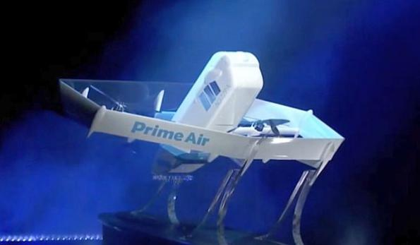 Amazon unveils new Prime Air drone design
