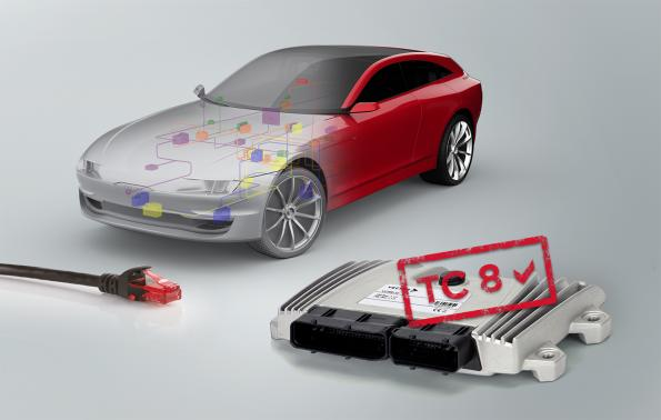 Automotive Ethernet conformance tests tool: TC8 ready