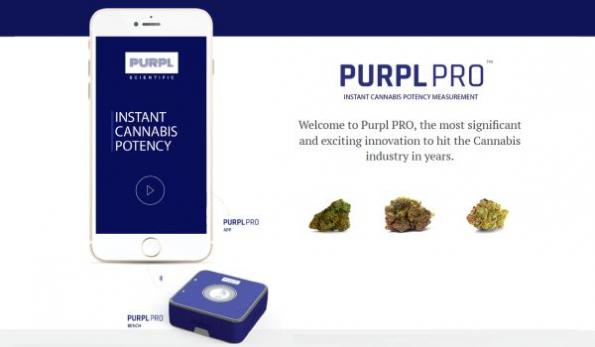 Cannabis potency testing system goes mobile