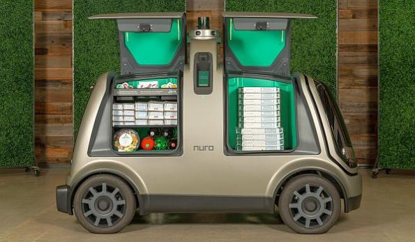 Autonomous pizza delivery planned for Houston