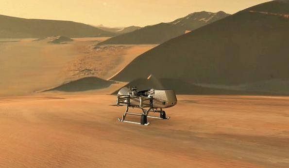 NASA drone to explore Saturn moon Titan