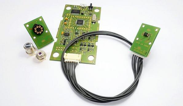 IR sensor demo kit for smart devices