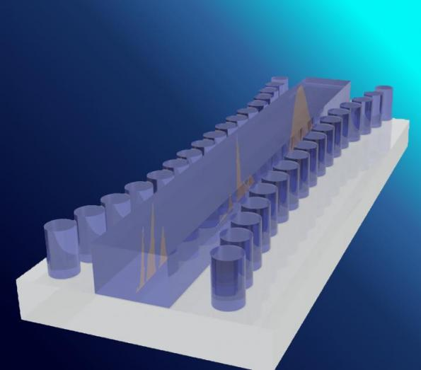 Team manipulates soliton photonic waves on a silicon chip