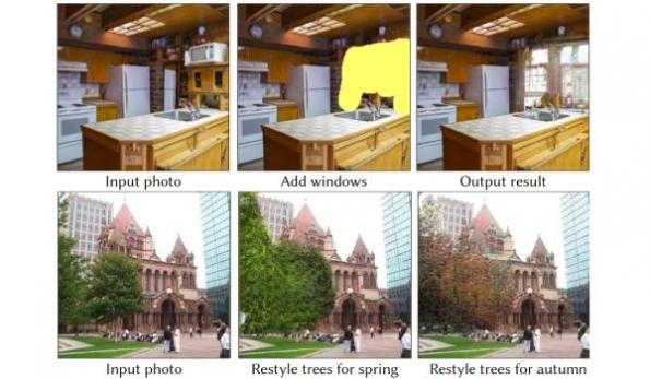 Editing images with neural networks