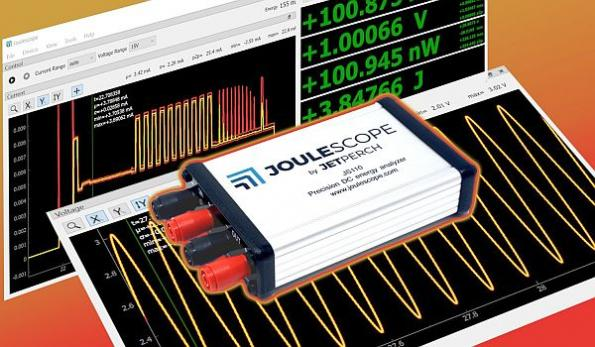 Affordable precision DC energy analyzer launches
