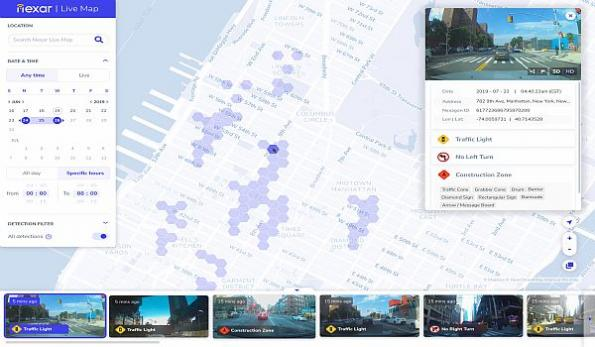 Dashcam Network Map Offered As Real Time Google Street View