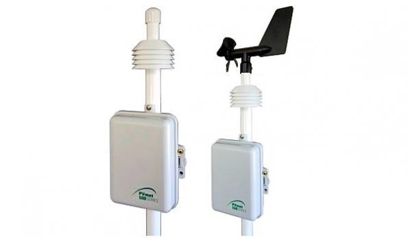 Weather station designed for PV efficiency monitoring