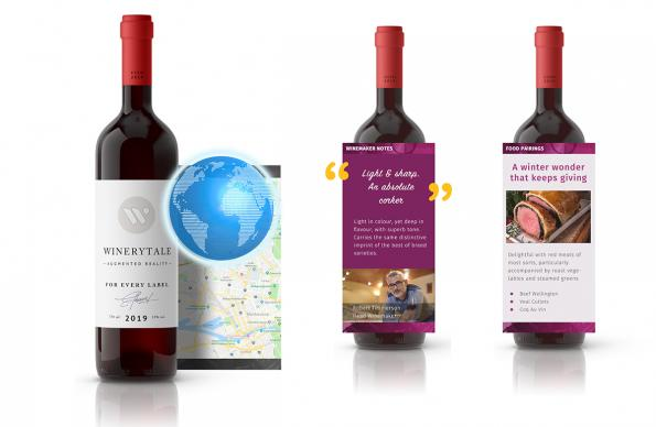 "Startup develops ""Location-Aware"" wine labels"