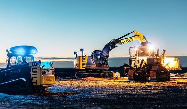 Transforming construction equipment into autonomous robots