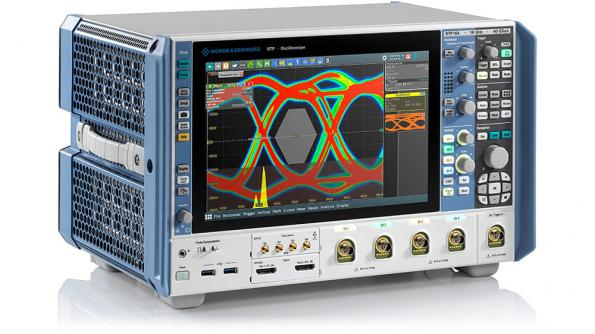 High-performance oscilloscope boasts bandwidth to 16 GHz