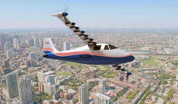 NASA takes delivery of X-plane electric aircraft