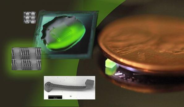 High-resolution nanoscale 3D printing gets 1000x speed boost