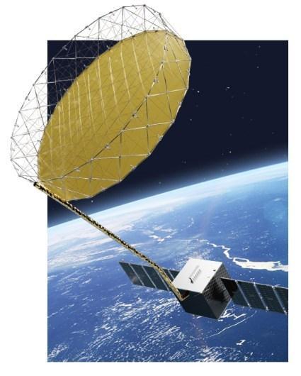 SAR microsatellite constellation to improve remote sensing quality/efficiency