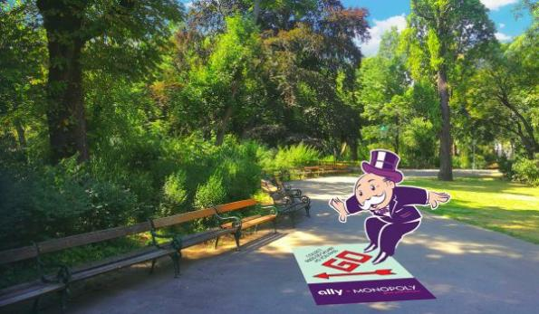AR game turns U.S. cities into virtual Monopoly board