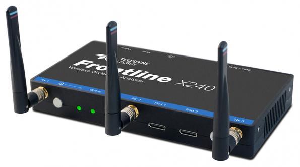 Flexible wireless wideband protocol analyzer