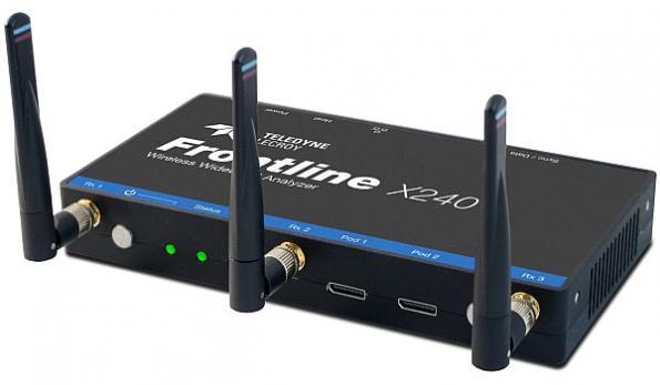 Wireless wideband protocol analyzer offers portability, configurability
