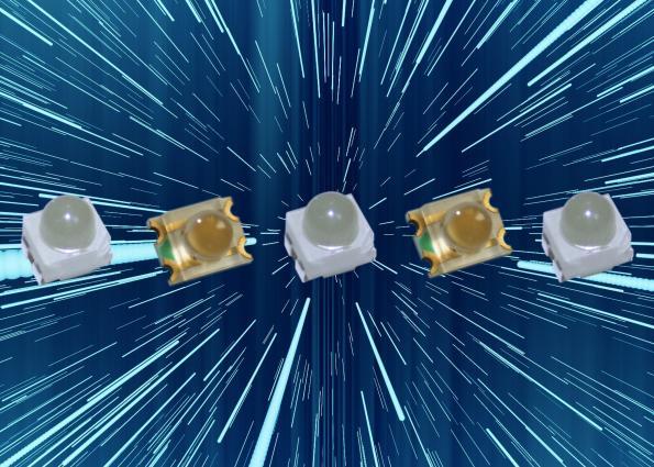Beam angle LEDs