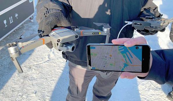 Drone-to-phone solution remotely IDs drones in flight