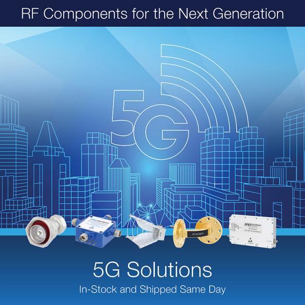 Pasternack offers comprehensive 5G portfolio