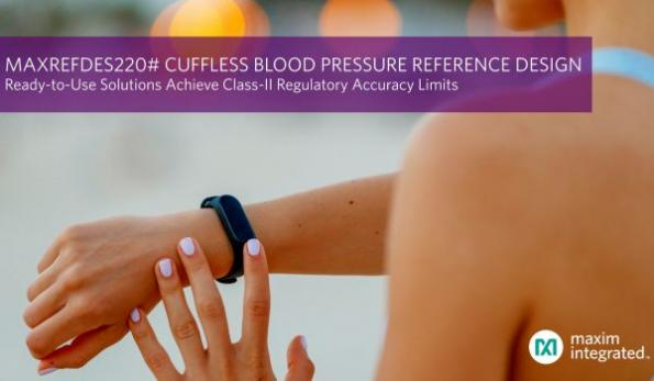 Cuffless blood-pressure measurement solution achieves high accuracy