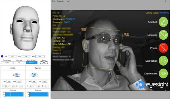 In-cabin sensing system now detects phone use, smoking while driving