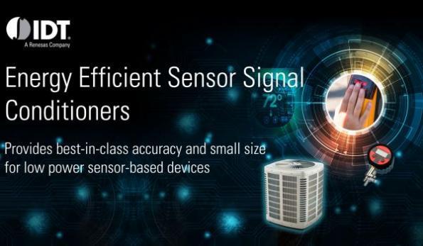 Sensor signal conditioner for smart capacitive sensor applications