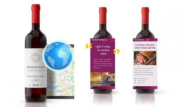 Augmented reality wine labels see growing adoption