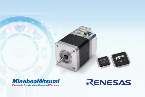 Renesas and MinebeaMitsumi join forces on stepping motors