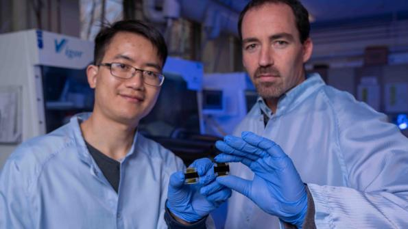 Researchers in Australia have developed a perovskite solar cell with an efficency of 21.6 percent.