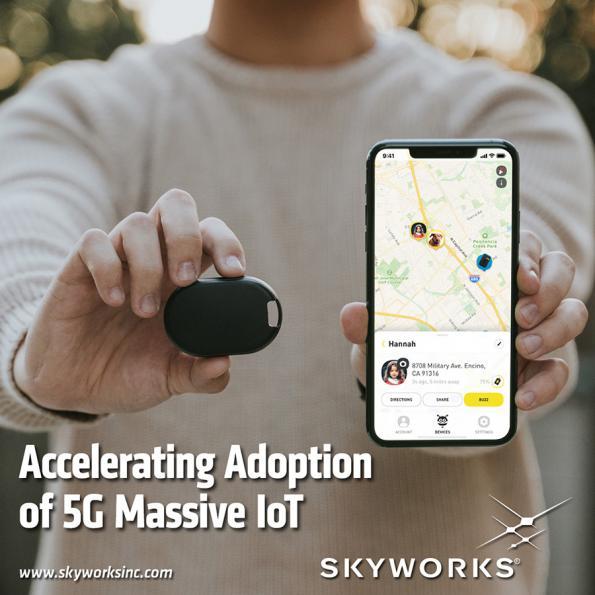Skyworks cellular-based modules drive 5G massive IoT applications