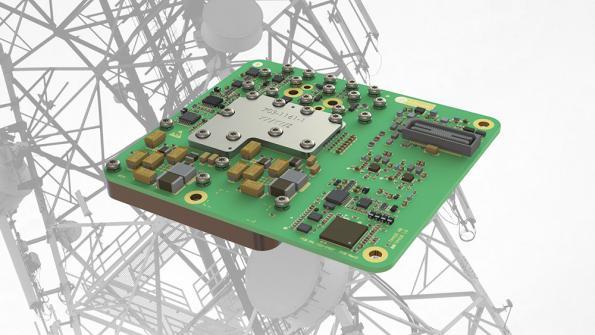 E-band transceiver module targets carrier grade mobile backhaul