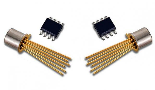 Ultra-low-noise dual N-channel JFET is 100% noise tested