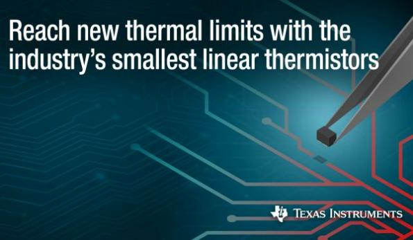 Linear thermistors enable operation closer to thermal limits