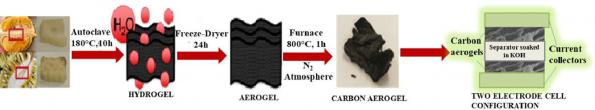 Researchers at the University of Sydney used waste from durian and jackfruit to create carbon aerogels for supercapacitors.