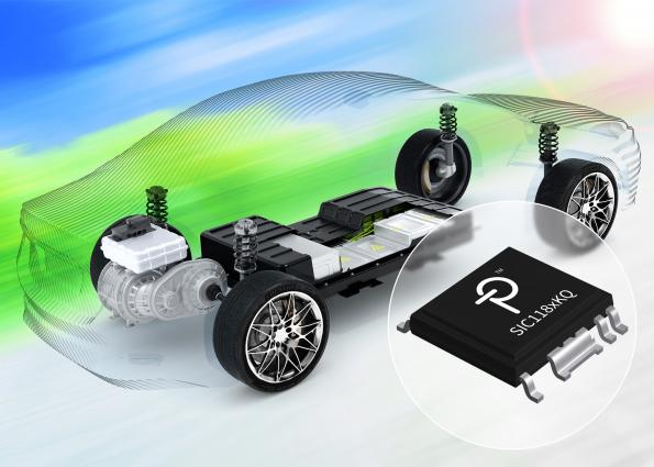 The SCALE-iDriver for SiC MOSFETs from Power Integrations is AEC-Q100 automotive qualified.
