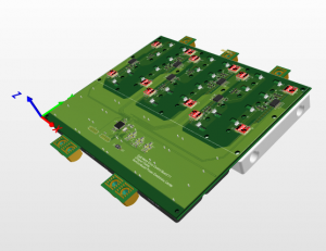 A 100kW reference design by VisIC Technologies for an 800V GaN motor inverter in a cost effective electric vehicle motor drive weighs 2.5kg