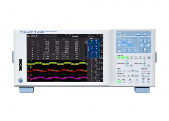 Two options and a firmware upgradefor the Yokogawa WT5000 Precision Power Analyzer boost the measurement of efficiency or energy consumption of electric vehicles and solar systems.