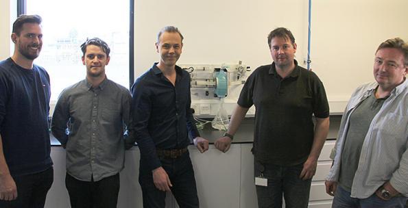The ventilator team at UK vacuum cleaner maker Gtech