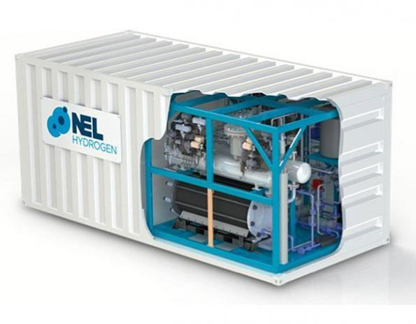 The US subsidiary of Nel in Norway is to develop a modular electrolyser stack to produce hydrogen based on the same fuel cell technology used in electric cars