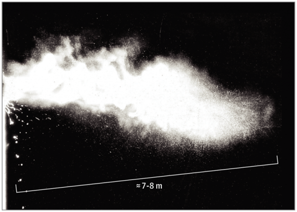A high speed camera at MIT is showing that a sneeze can travel up to 8m, four times the distance of theoretical models used in the Covid-19 outbreak