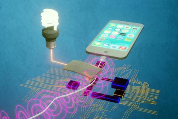 A magnetic energy harvester can be used to power battery-less LEDs and sensors in a smart home