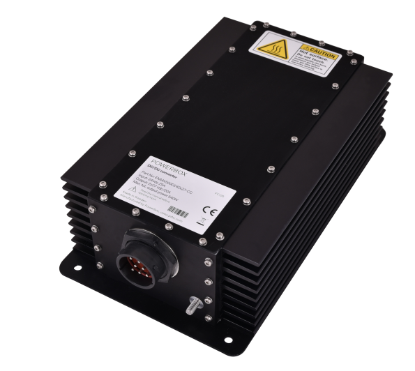 Powerbox's ENMA500D24/2x27-CC 540W dual channel marine power supply comes in a sealed IP56 box with conduction cooling.